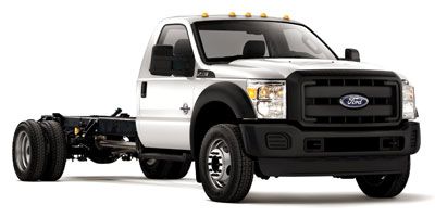 2012 Ford Super Duty F-550 MPG