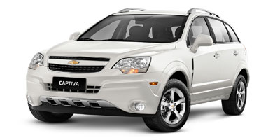 2013 Chevrolet Captiva Sport Fleet MPG