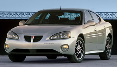 2004 Pontiac Grand Prix Gtp Competition Group Specs