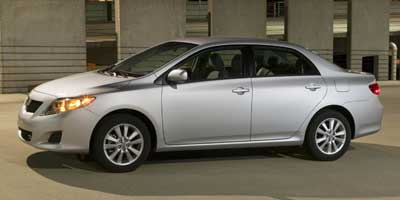 2009 Toyota Corolla Wheel And Rim Size Iseecars Com