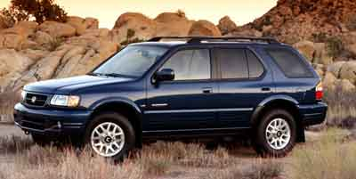 2000 Honda Passport Overview  iSeeCarscom