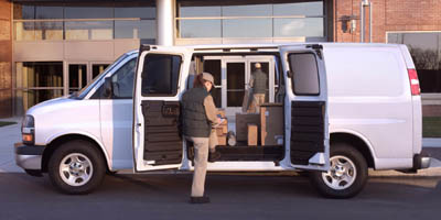 2005 chevrolet express cargo van. Black Bedroom Furniture Sets. Home Design Ideas